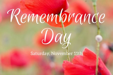 Remembrance Day Photo For Site