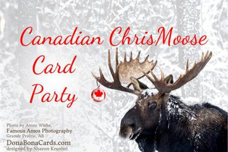 Chris Moose Card Party Small