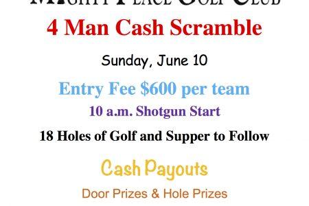 4 Man Cash Scramble