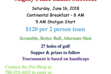 Mighty Peace Ladies Shootout