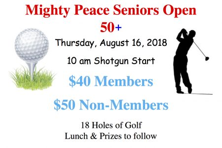 Mighty Peace Seniors Open