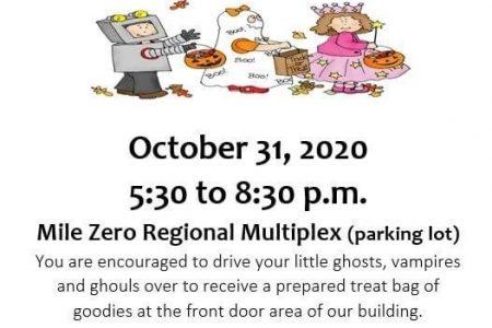 Halloween Drive Through Event
