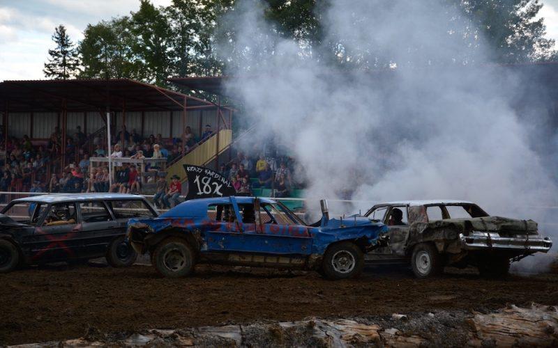 Battle River Rodeo Demo Derby