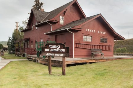 Peace River Rail Station Museum Tourist Info