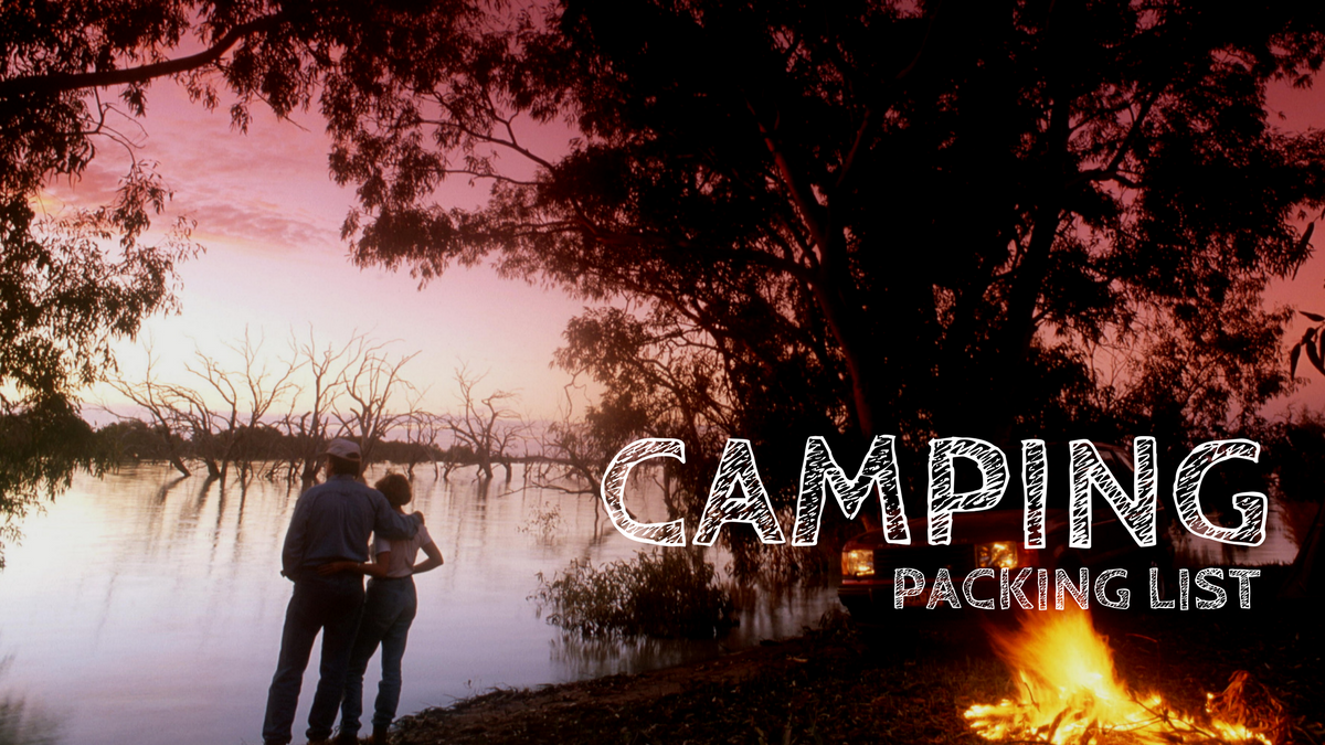 Camping List Cover