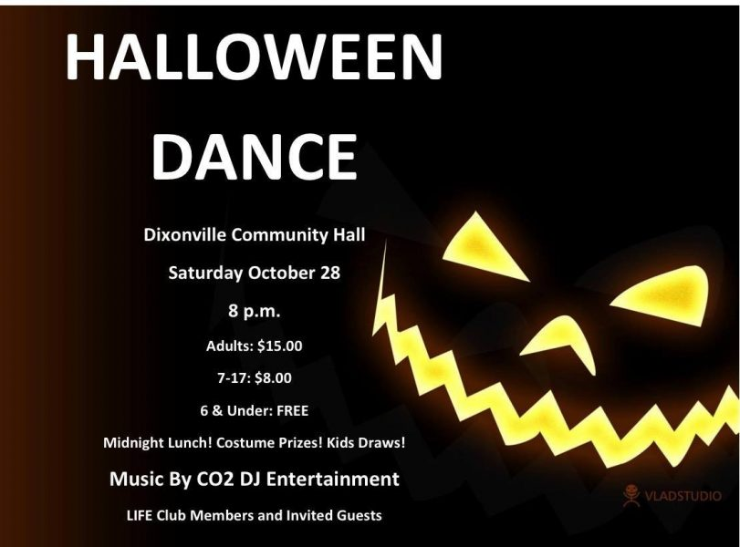 midnight lunch costume prizes and kids draws music by co2 dj entertainment adults 15 7 17 years 8 6 under are free