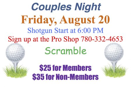 Couples Night August 2018